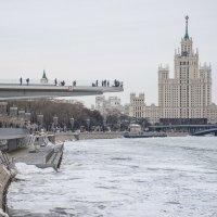 Москва-река. Март. :: Галина Бехметьева