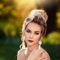 Белый цветок :: Елена Оберник