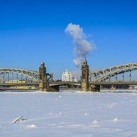 Мост Петра Великого :: Лариса Лунёва