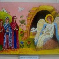Картины про Ангелов в Томилино. :: Ольга Кривых