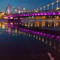 Крымский мост в фиолетовом :: Yury Mironov