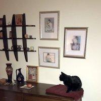 Кошка в интерьере... :: Елена