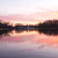 рассвет на реке Сож :: Владимир Зырянов