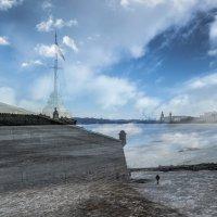 Облака над Невой :: Наталья Левина