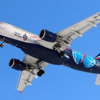 Airbus A320-200, рег. VP-BWE, Aeroflot - Russian Airlines :: ast62