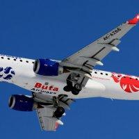 Embraer ERJ-190AR. Азербайджанские авиалинии :: ast62