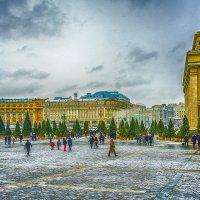 Москва. Центр. Март. :: Игорь Герман