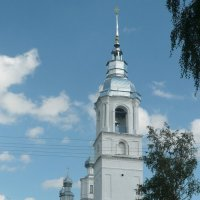 Церковь Рождества Иоанна Предтечи в Погосте Трифон :: Юлия Ошуркова
