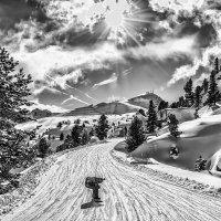 sunny day in the Italian Alps :: Dmitry Ozersky