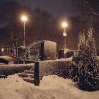 Вечерний снегопад. :: Олег Козлов