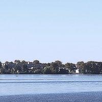 Вид с реки на Калязин :: Nikolay Monahov