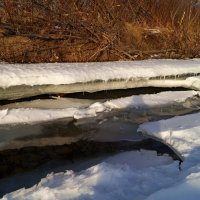 Река вскрывается :: Кристина Воробьева