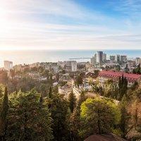 Вид на Сочи с высоты :: Юлия Батурина