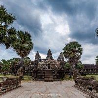 Вечер в Ангкор Ват :: Сергей Фомченков