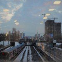 Город через окно :: Валентина Данилова