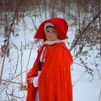 Красная шапочка :: Анастасия Сырцова