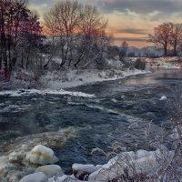 зимний вечер на Анграпе... :: Владимир Матва