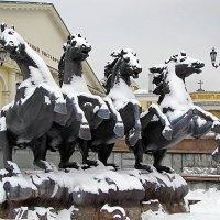 И на Манежной зима :: san05 -  Александр Савицкий