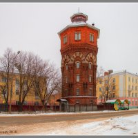 Водонапорная башня :: Maxim Semenov