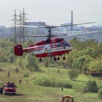 Пожарный вертолёт КА - 52. :: Игорь Олегович Кравченко