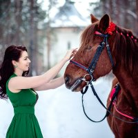 Наталия и Буран :: Наталия Капитоненко