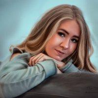 портрет, тот же персонаж)))))) :: николай дубовцев