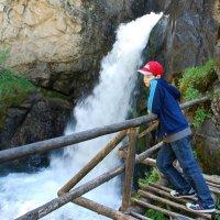 Кайракский водопад или водопад Бузгуль (нижняя часть). :: Anna Gornostayeva