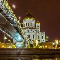 Храм Христа Спасителя и Патриарший мост :: jenia77 Миронюк Женя