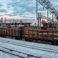 на вокзале :: Ольга (Кошкотень) Медведева