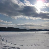 Пейзаж с сугробом :: OLLES