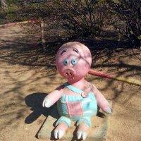 Пятачок на детской площадке :: Ирина Via