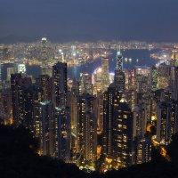 Гонконг с пика Виктория :: slavado