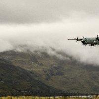 самолёт ВВС США садится в Гренландии :: Георгий А