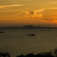 Закат на Сиамском заливе. :: Rafael