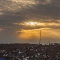 Закат над городом :: Lammer Zloy