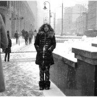 снежная дева :: Михаил Зобов