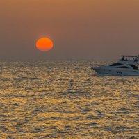 Закат в Персидском заливе :: Павел © Смирнов