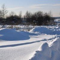 Зимний пейзаж. :: vkosin2012 Косинова Валентина