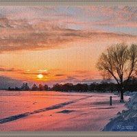 Зимние закаты за городом :: Лидия (naum.lidiya)