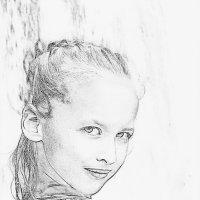 Портрет внучки :: Наталья Ильина