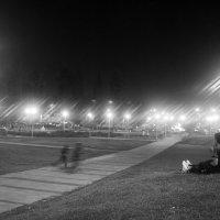 Вечер,Фонари и Сквер ..... :: Aleks Ben Israel