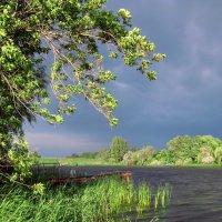 На реке перед грозой :: Лидия Бараблина