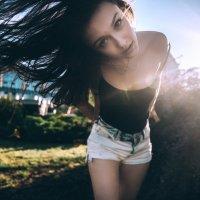 Ветер в волосах :: Кирилл Гудков