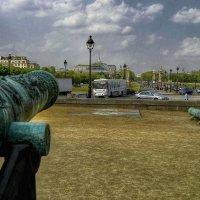 Париж, Марсово поле :: Борис Соловьев
