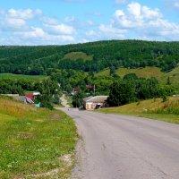 Село Ягодная поляна :: Лидия Бараблина