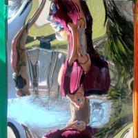 В королевстве кривых зеркал... автопортрет :: Нина Бутко