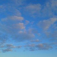 Розовые облака на закате :: Сапсан