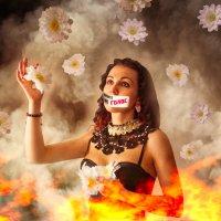 молчание громче крика :: Тася Тыжфотографиня