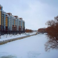 Белгород. Набережная реки Везёлки :: Сергей Щеблыкин