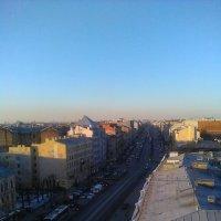 Вид с крыши Лофт Проект ЭТАЖИ на Лиговский проспект. :: Светлана Калмыкова